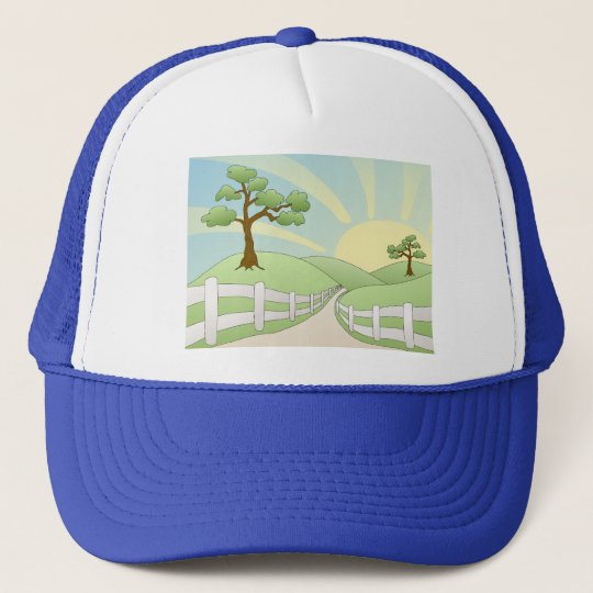 Country Paradise Trucker Hat