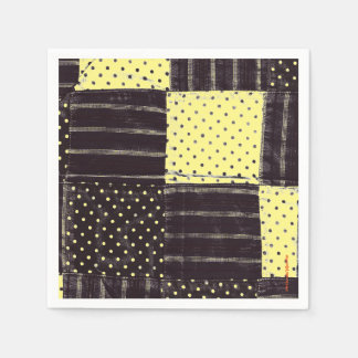 Country Patchwork Paper Napkin