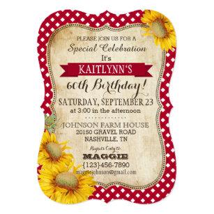 picnic birthday invitations zazzle