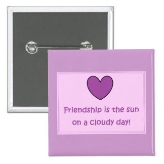 Country Pink Friendship Button