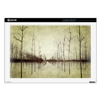 """Country prairie rural landscape winter tree skin for 17"""" laptop"""