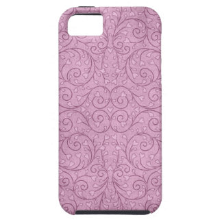 Country Prim Pink Heart Floral Calico Quilt iPhone SE/5/5s Case