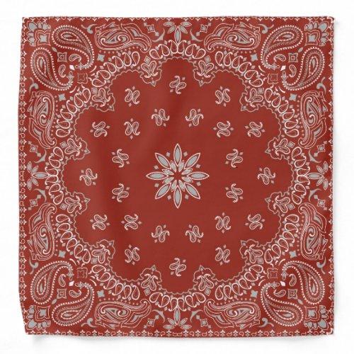 Country Red Paisley | Western Style Bandana