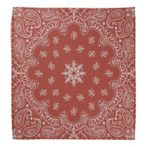 Country Red Paisley | Western Style Bandana