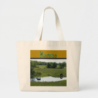 Country Reflection Canvas Bag