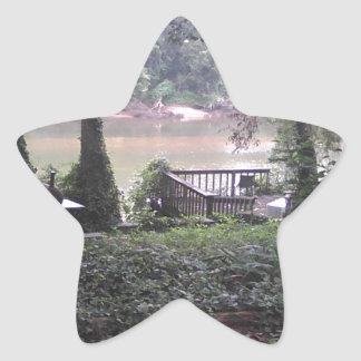 Country River Star Sticker