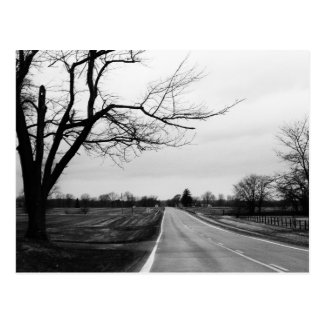 """country road"" by Coressel Productions Postcard"