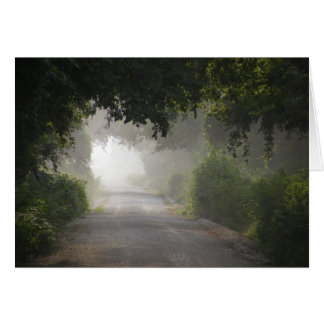 Country Road Card (Blank)