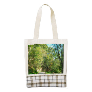 Country Road Fayette County Zazzle HEART Tote Bag
