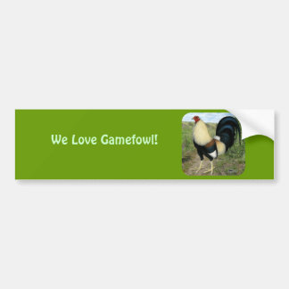 Country Road Gamecock Bumper Sticker
