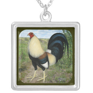 Country Road Gamecock Silver Plated Necklace