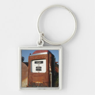 Country Road Gas Station Keychain
