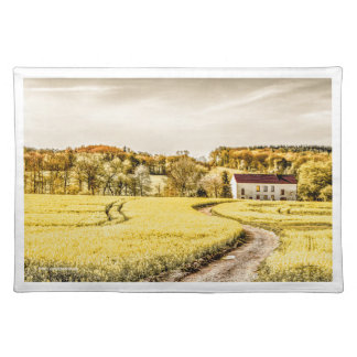 COUNTRY ROAD IN SPRINGTIME - Placemat