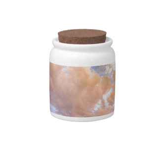 Country Road Into The Storm Front Candy Jar