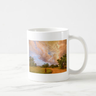 Country Road Into The Storm Front Coffee Mug