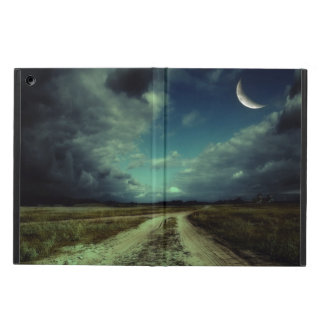 Country road leading to the church cover for iPad air