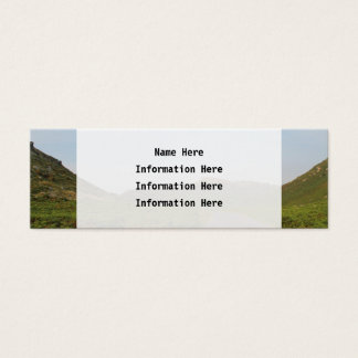 Country Road. Mini Business Card
