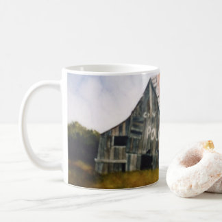 Country Road Mug rural old mail pouch barn field