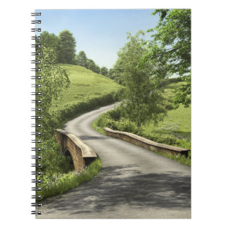 Country Road Notebook