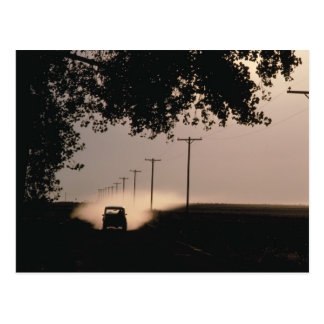 Country Road Post Card