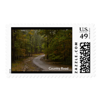 Country Road postage stamps