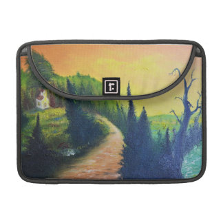 Country Road Richshaw Flap Sleeve Sleeves For MacBook Pro