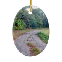 Country Road Special Message Ornament