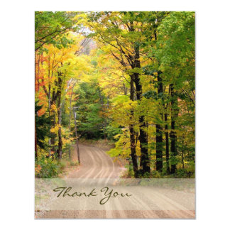 Country Road Thank You Card