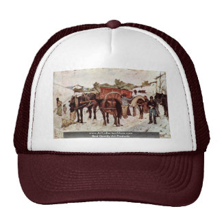 Country Road With Peasants And Soldiers Trucker Hats
