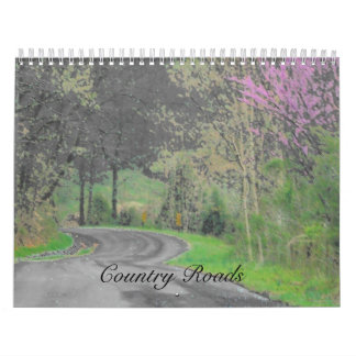Country Roads Calendars