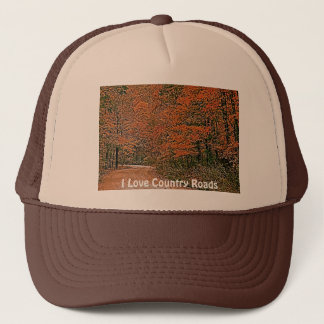 Country Roads Cards, Shirts & Gifts Trucker Hat