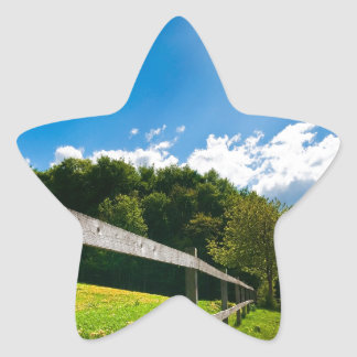 Country Roads Star Sticker