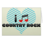 Country Rock Greeting Cards