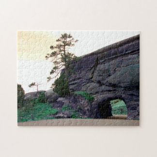 country rock tunnel jigsaw puzzle