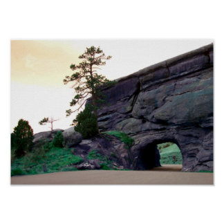 country rock tunnel poster