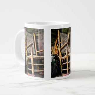 Country Rocking Chair Large Coffee Mug