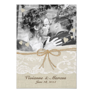 Country Romance Save the Date Card