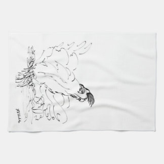 Country Rooster Designer Kitchen Dish & Hand Towel