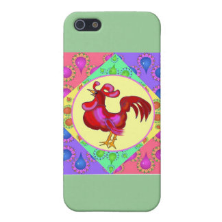 Country Rooster iPhone 5 Cover