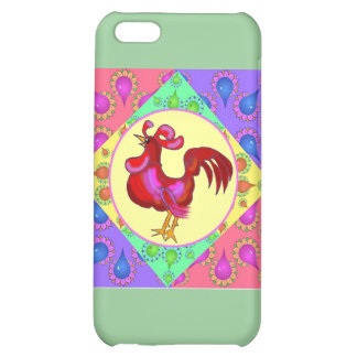 Country Rooster Cover For iPhone 5C
