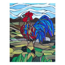 Country rooster letterhead