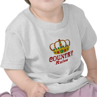 Country Rules T-shirts