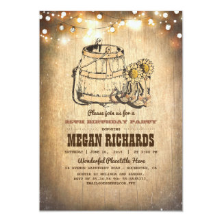 cowboy party invitations & announcements | zazzle, Party invitations