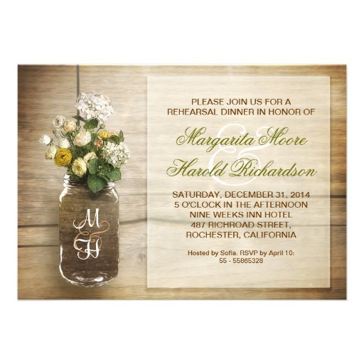 Rustic Rehearsal Dinner Invitations and get inspiration to create nice invitation ideas