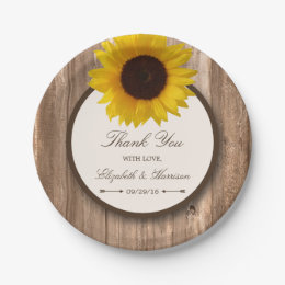 Country Wedding Paper Plates   Wedding Tips and Inspiration