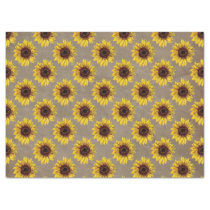 Country Rustic Sunflower Wedding Gift Wrap Tissue Tissue Paper