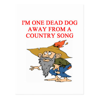 COUNTRY sad song Postcards