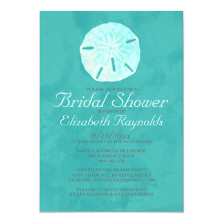 Country Sand Dollar Bridal Shower Invitations