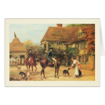 Country scene card