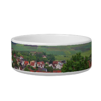 Country Scene Pet Bowl